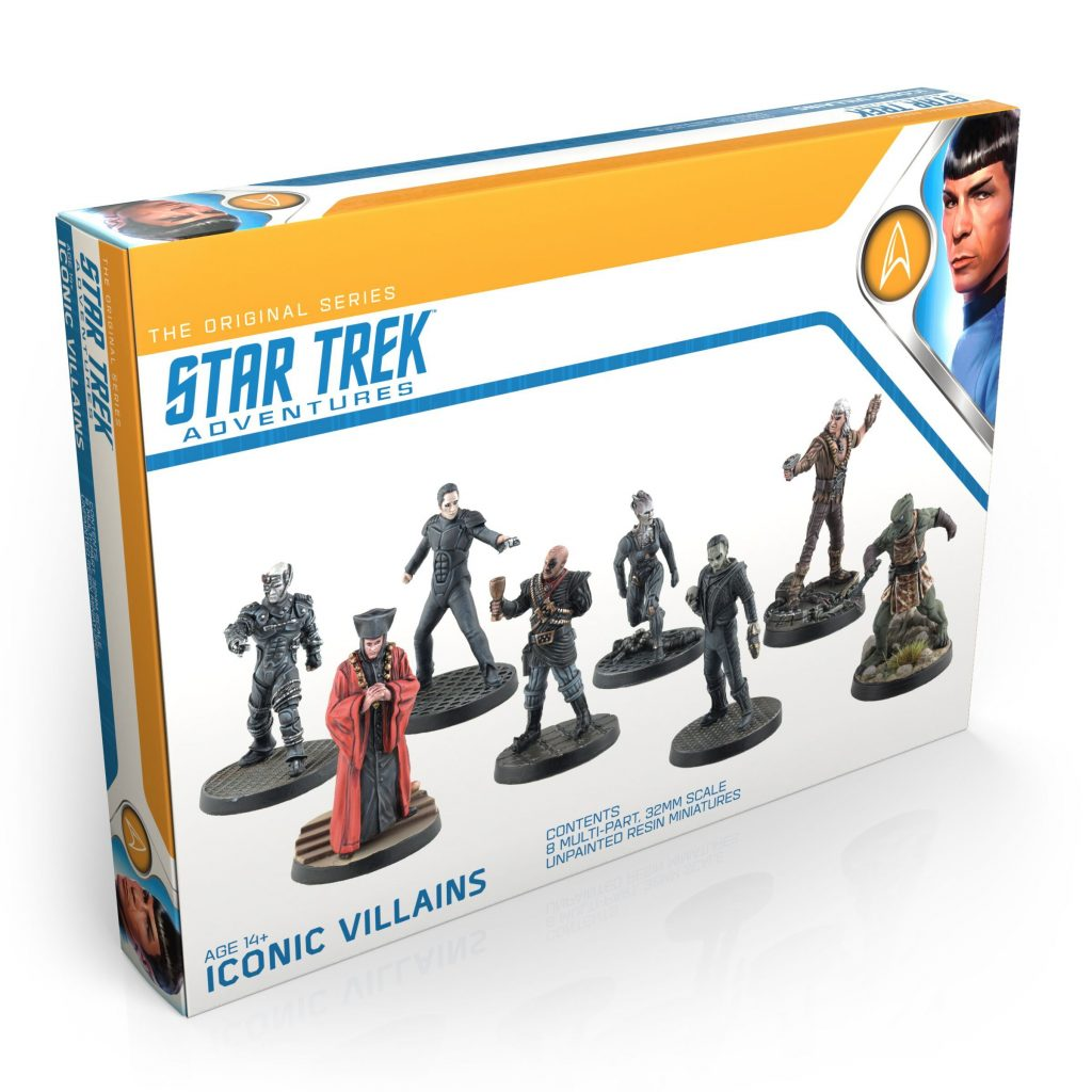 Star Trek Adventures Iconic Villains - Modiphius