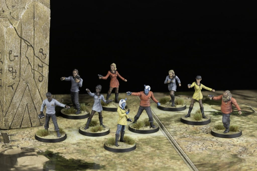 Star Trek Adventures Landing Party Miniatures - Modiphius