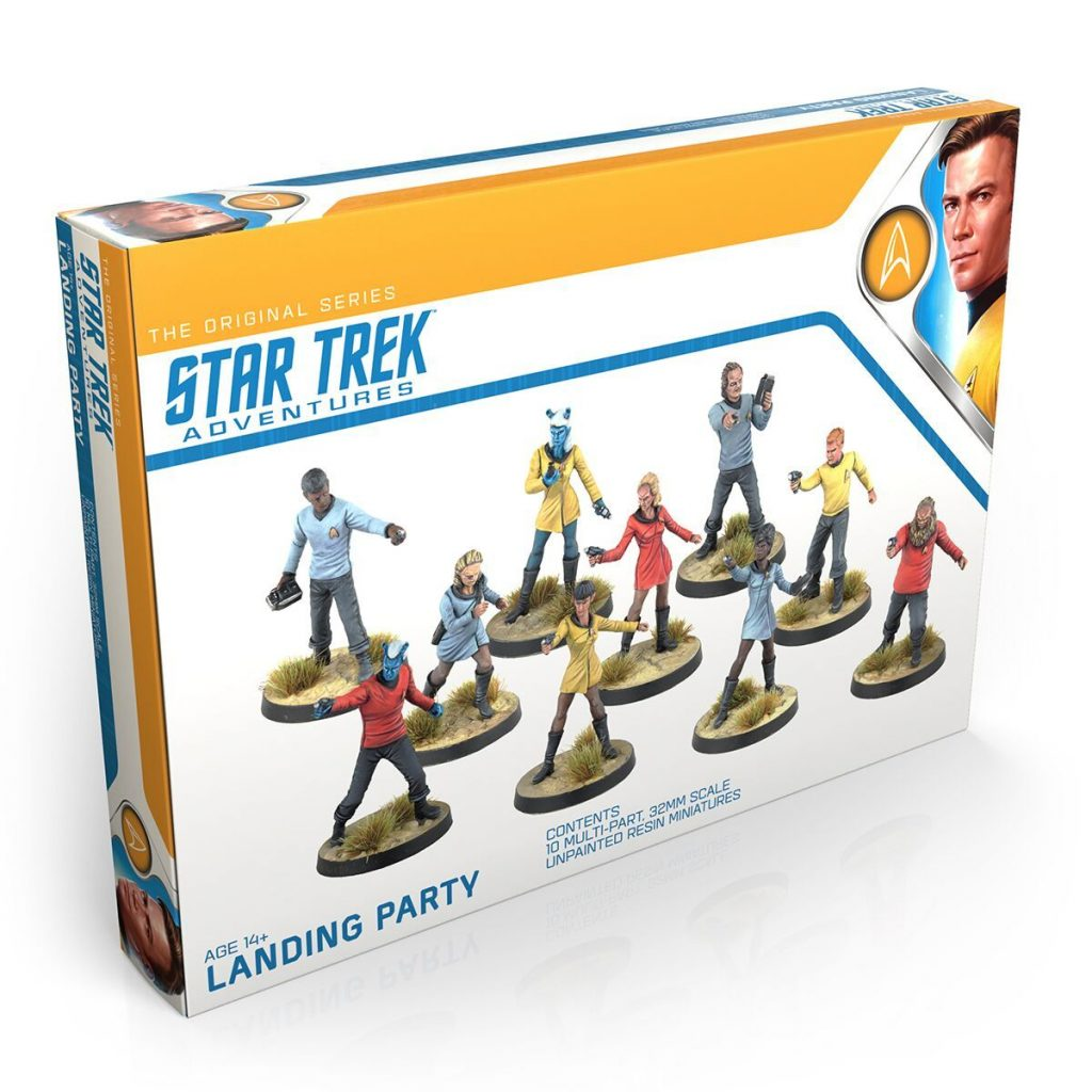 Star Trek Adventures Landing Party - Modiphius