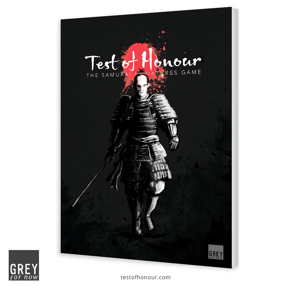 Test Of Honour Limited Edition Rulebook - Grey For Now Games