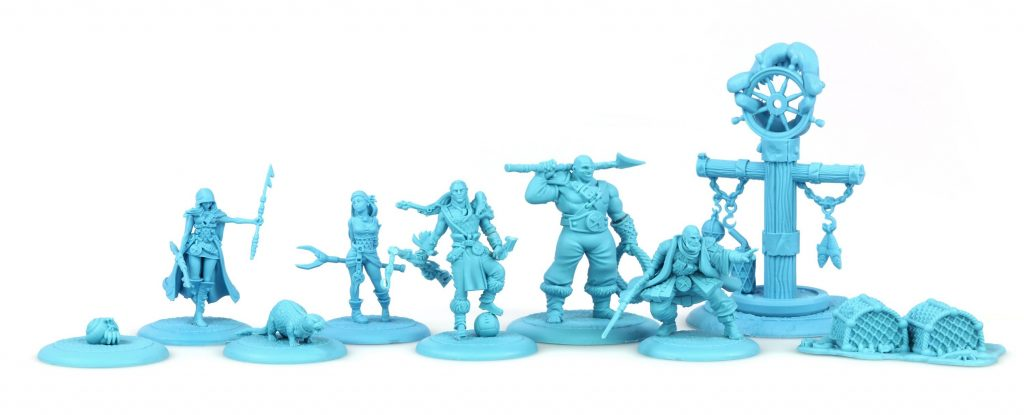 The Fishermans Guild The Changing Tide - Steamforged Games