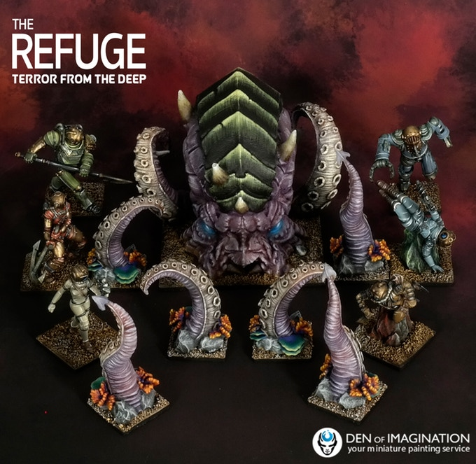 The Refuge Terror From The Deep #3