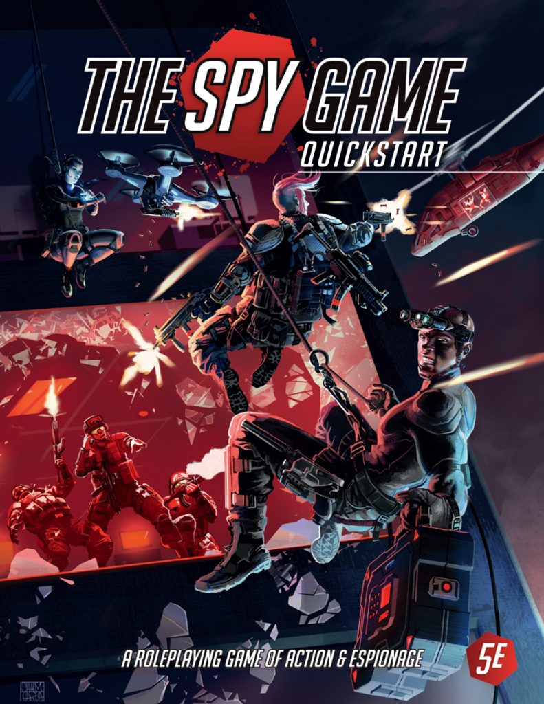 The Spy Game RPG - Black Cats Gaming