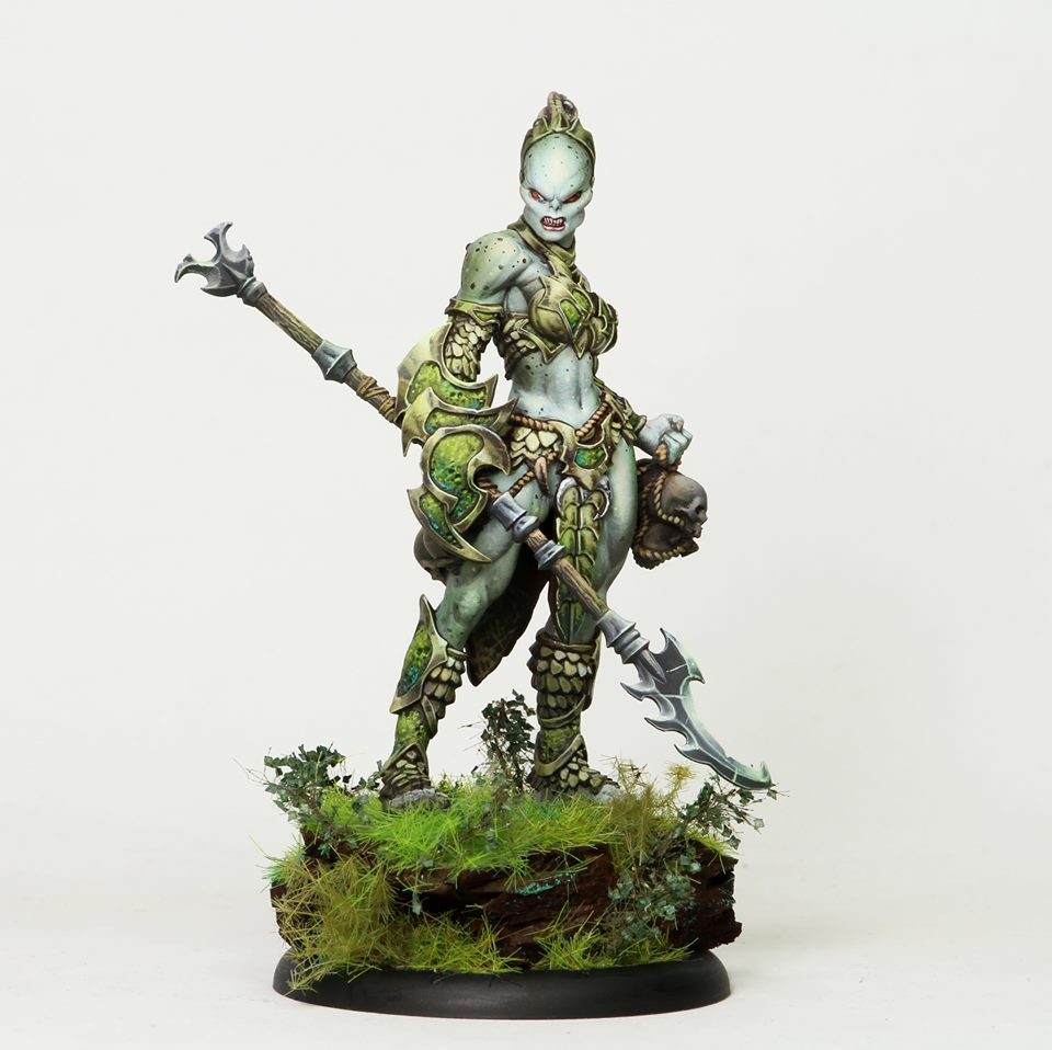Totem Huntress - Privateer Press