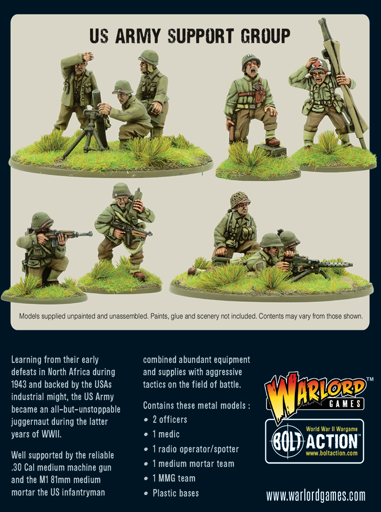 US Army Support Group - Bolt Action