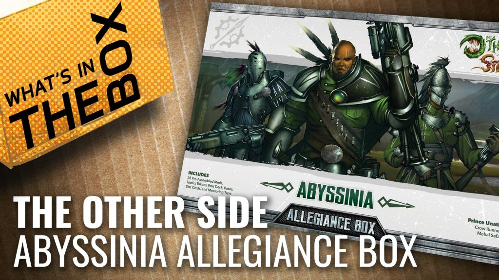 Unboxing: The Other Side - Abyssinia Allegiance Box