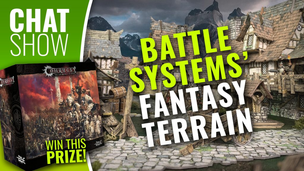 Weekender: Battle Systems' Fantastic Fantasy Terrain & WIN Conquest Two-Player Set!