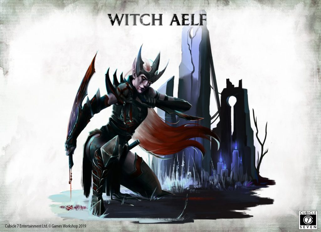 Witch Aelf Art - Cubicle 7