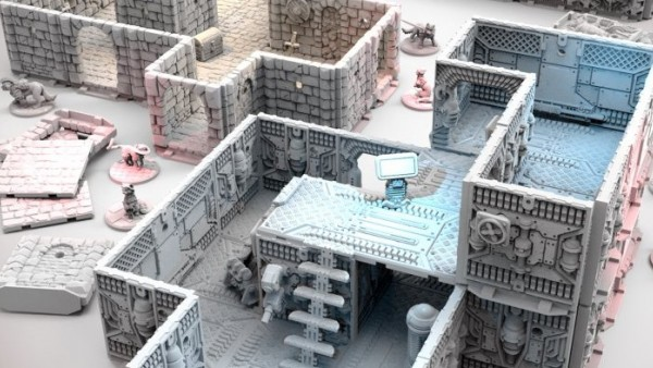 Delve Deep In Archon's Upcoming Dungeons & Lasers Terrain