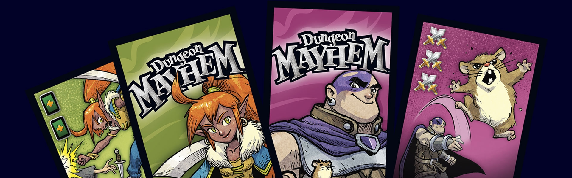 Fight With Furry Fury In New Dungeon Mayhem Expansion – OnTableTop