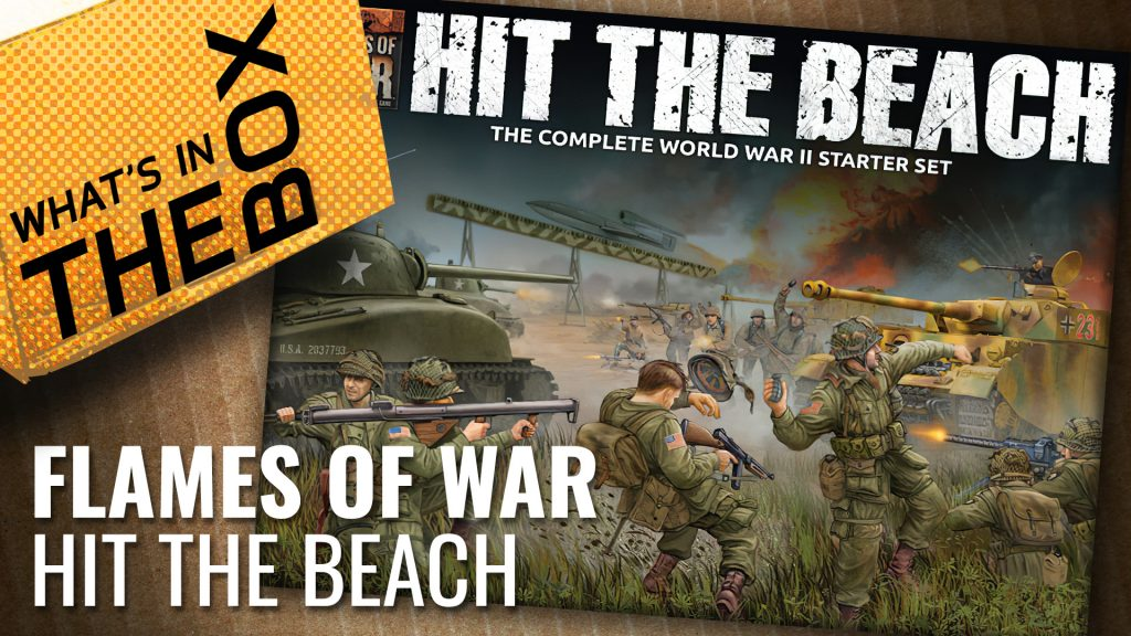 Flames of War Unboxing: Hit The Beach