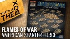 Flames Of War Unboxing: American Starter Force