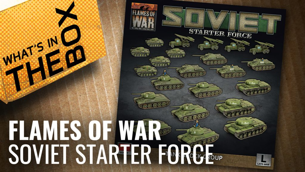Flames of War Unboxing: Soviet Starter Force