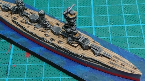 Fireforge Showcase New Fusō Images For Battlefleet WWII