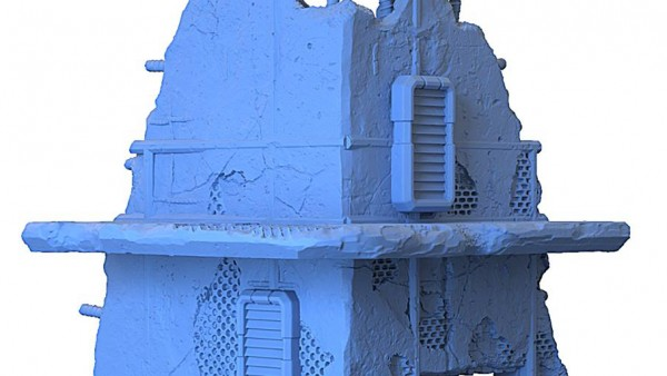 Blasted Warzone Terrain On The Cards From GameMat.Eu