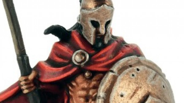 King Leonidas Leads Wargames Illustrated's Spartans