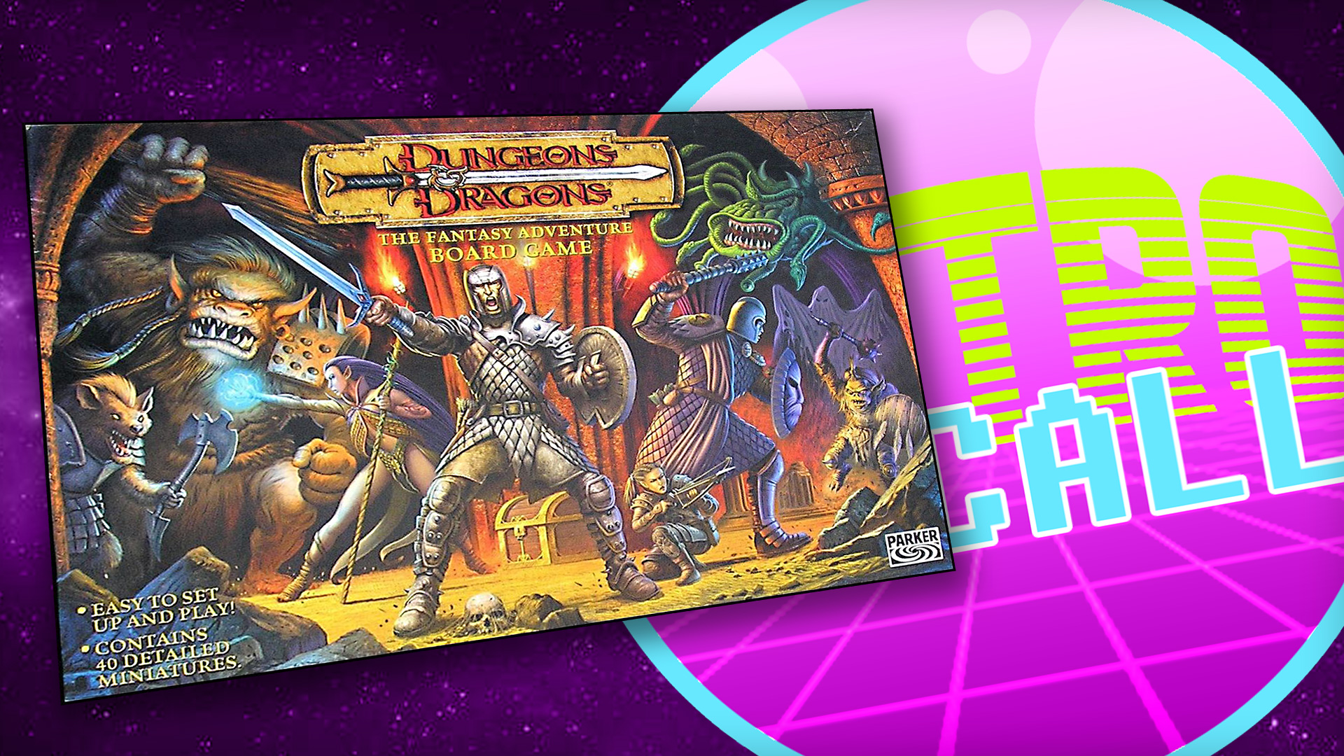 Retro Recall Dungeons Dragons The Fantasy Adventure Game Ontabletop Home Of Beasts Of War