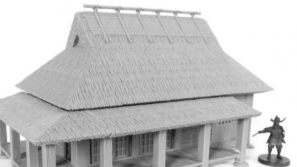 Recreate Feudal Japan With New Modular 3D Print Farmhouse