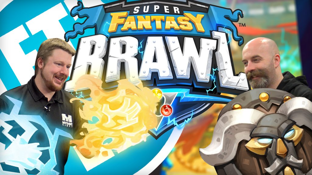 Az from Mythic Games has a special preview of the alpha version of their upcoming gameSuper Fantasy Brawl.