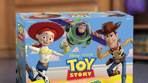 USAopoly Get You Deckbuilding With Toy Story's Woody & Buzz!