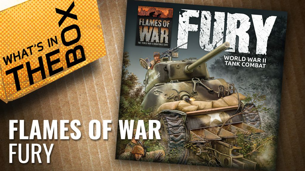Flames of War Unboxing: Fury