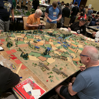 Le Petite Armee - Leipzig - Game in Progress