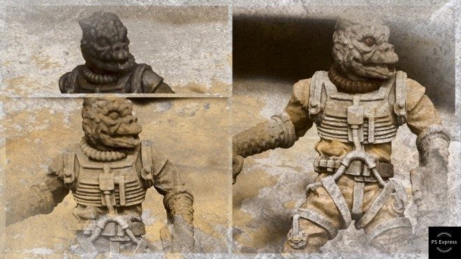 Painting Bossk – Star Wars Legion
