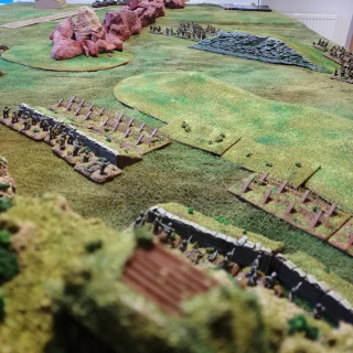 3rd Battle of Monte Cassino - Point 593 (again) Turns 1-3