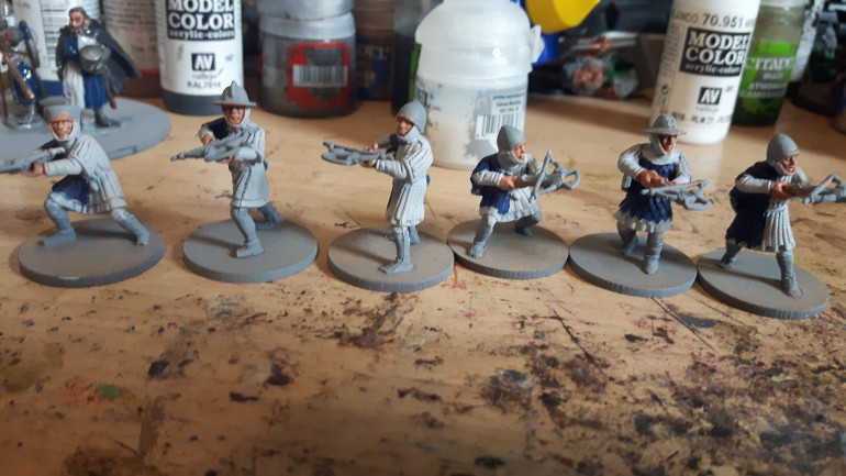 Next up more levy crossbows
