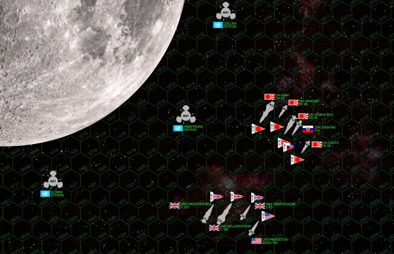 Darkstar Live Game - Apollo 11 Commemorative -1730 UK Time 20 July