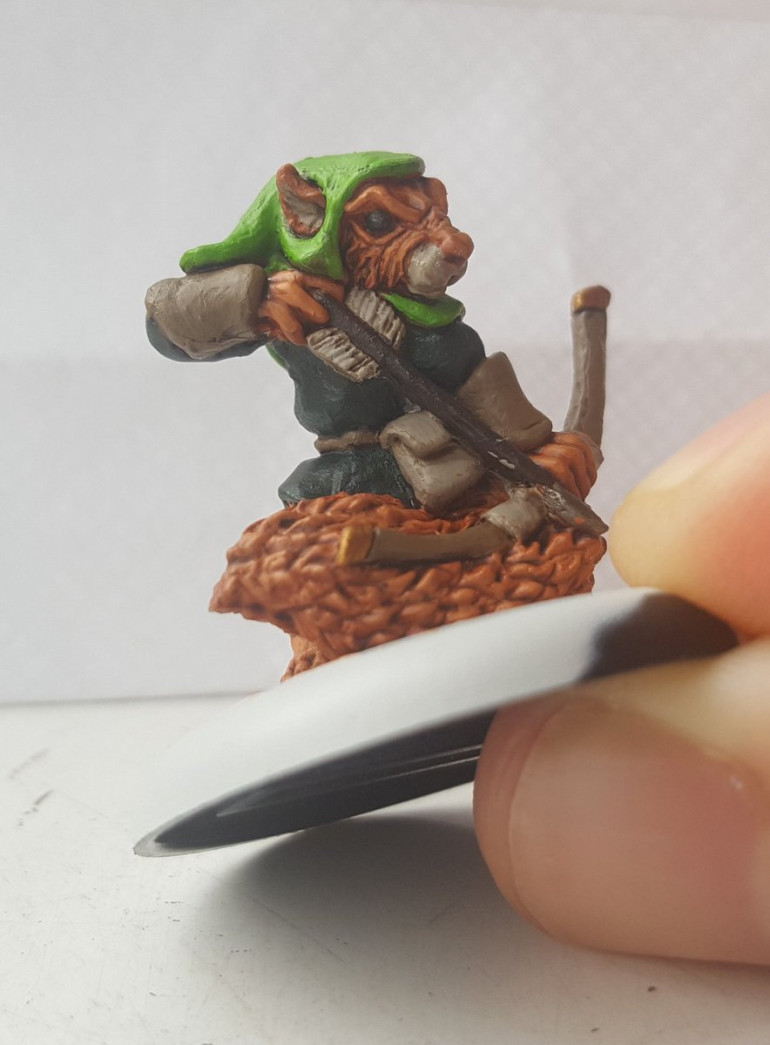 Squirrel Ranger Painted Up!