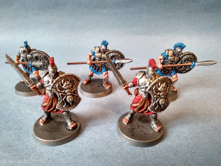 Pandora's box - myrmidons and argonauts: finished