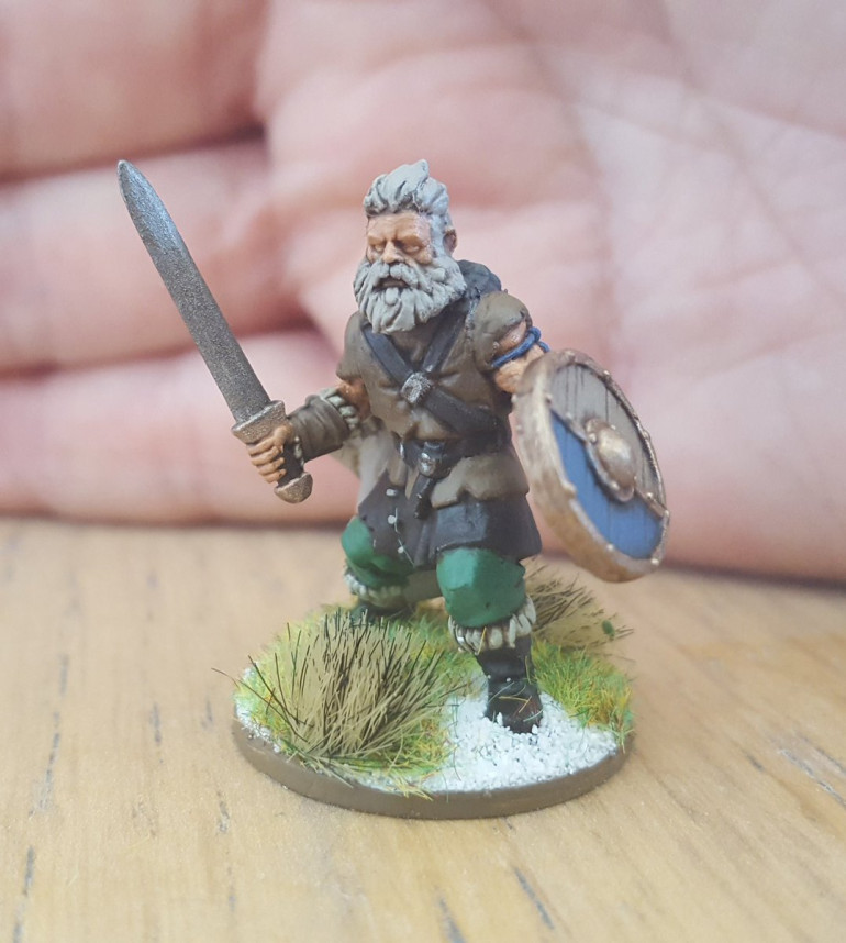 First Character Done - Rudd Threetrees