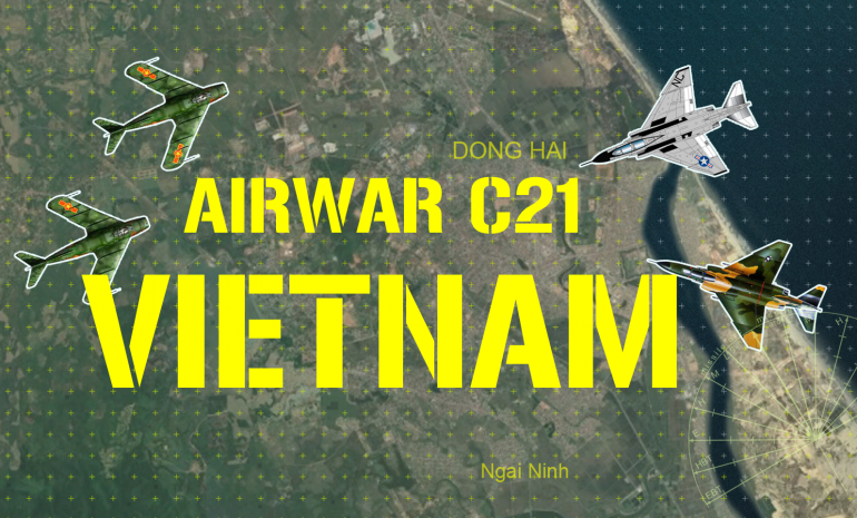 "The scenario will be a simple fighter sweep / interception just north of the DMZ, near Dong Hai, North Vietnam, set near the end of 1968.  Two US Navy F-4J Phantoms (Squadron VF-51, based off the Essex class carrier USS Oriskany) will penetrate North Vietnamese airspace, where they will be intercepted by four MiG-17 ""Fresco"" (and/or Chinese Shenyang J-5 knockoffs) fighters of Fighter Regiment 921, the first and premiere jet-powered formation of the VPAF (Vietnamese People's Air Force) at this time."