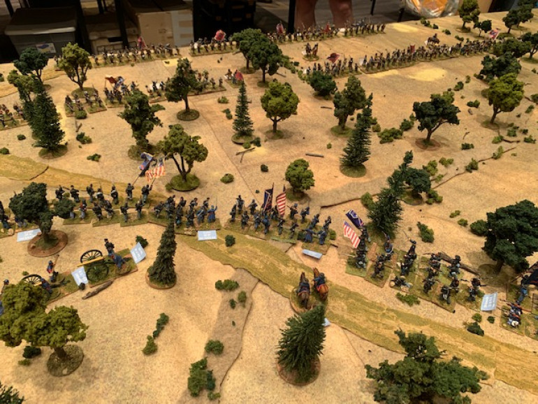 Civil War Rages With Regimental Fire and Fury