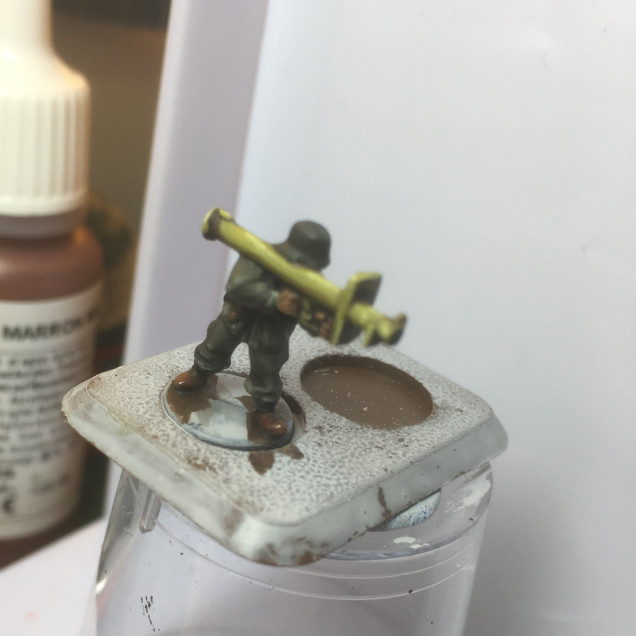 Wash and Highlights - German Infantry continued