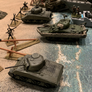 Sword Beach Battles Happening At Historicon