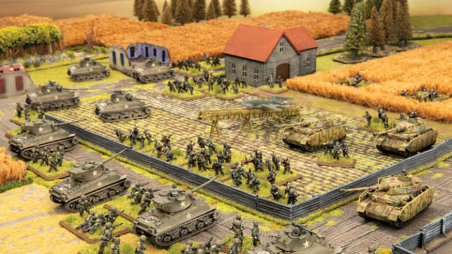 Slow (ish) grow league for Flames of War V4