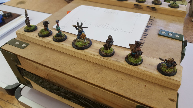 Some Wonderful Warbands From Northymbra At War 2019