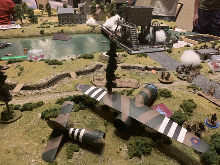 Check Out This Fantastic Pegasus Bridge Table Here At Historicon