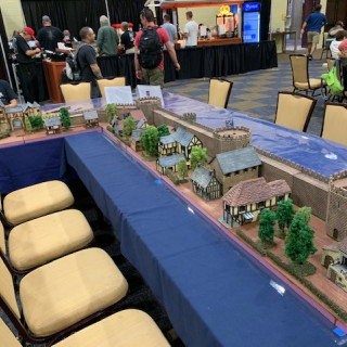 Miniature Bldg Authority Siege of Paris