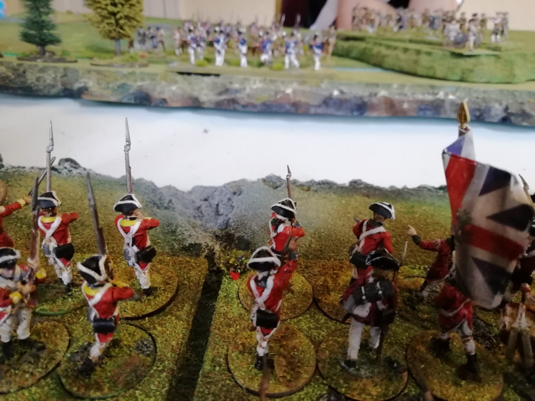 Redcoats come on to the table