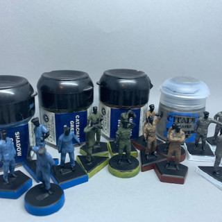 Captains Log Day 12- Crew painted