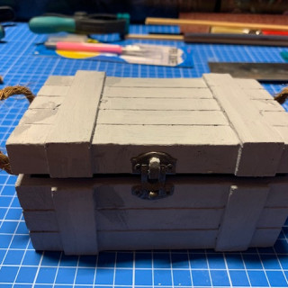 Captains Log Day 9 - The sailer crate - finished the first of four