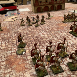Clash Of Spears Ancient Battles At Historicon