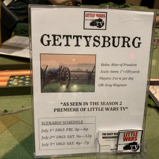 Bonus Post - Little Wars TV Runs Gettysburg in Altar of Freedom