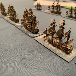 Bonus Post - Anglo-Dutch Age of Sail in 1:1200
