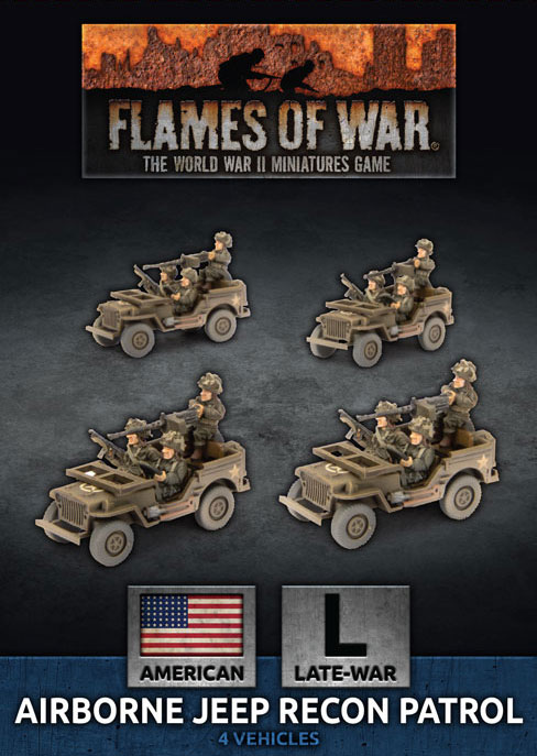 Airborne Jeep Recon Patrol - Flames Of War