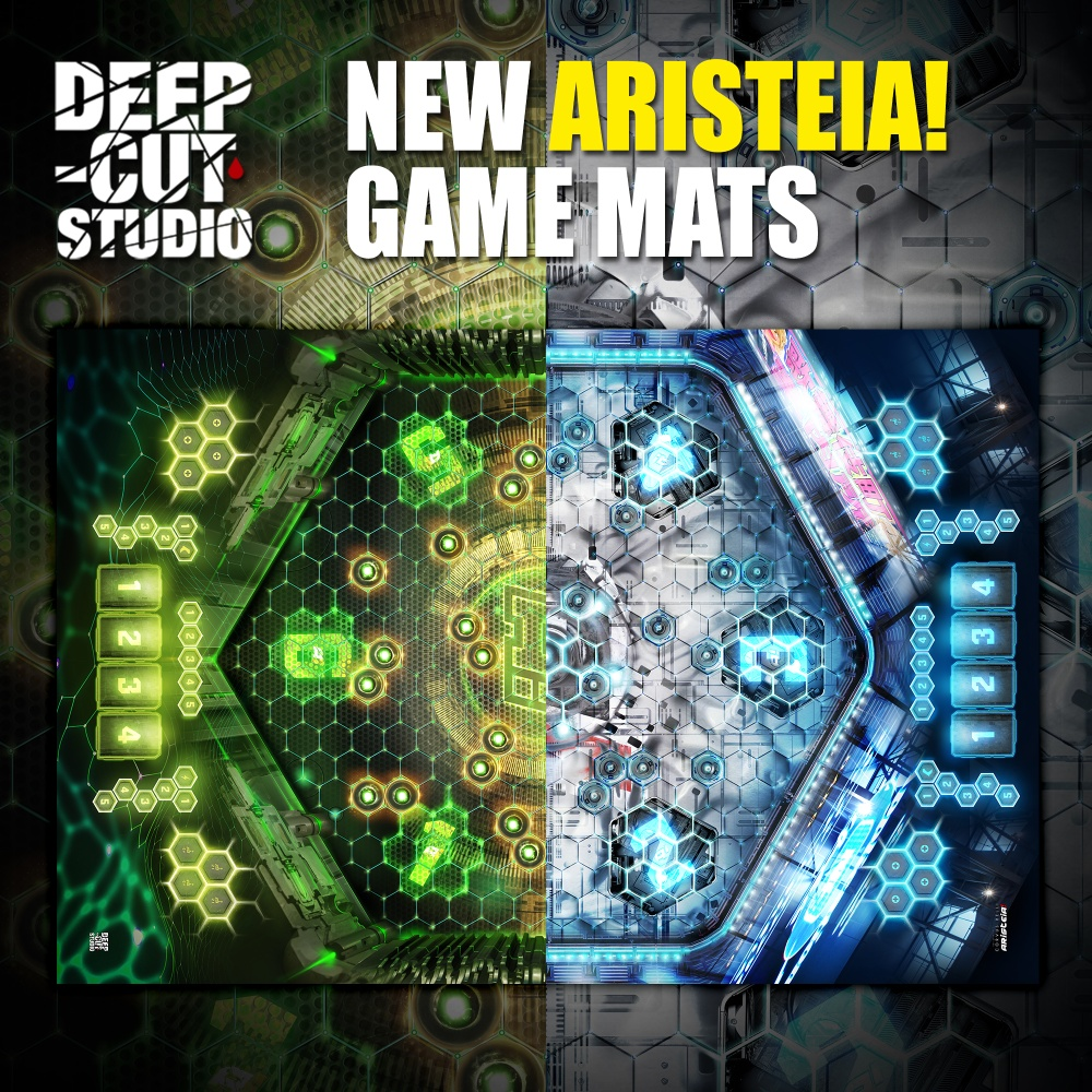 Aristeia Game Mats - Deep Cut Studio