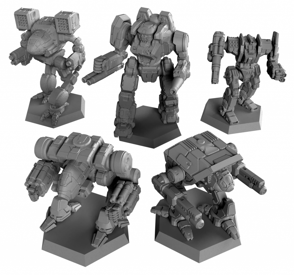 BattleTech Clan Invasion Mechs - Catalyst Game Labs